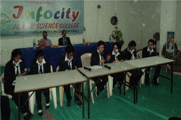 Infocity Junior Science College-Debate
