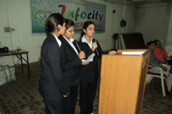 Infocity Junior Science College-Singing Competition
