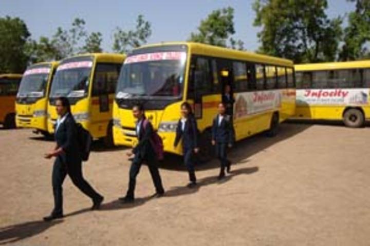 Infocity Junior Science College-Transport
