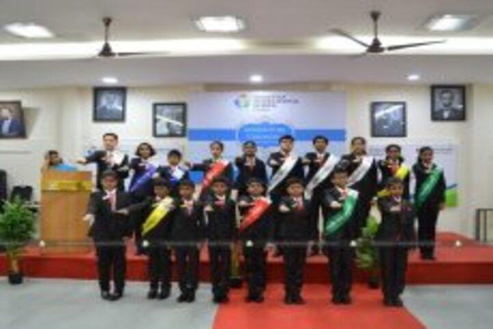 Hindustan International School-Investiture Ceremony