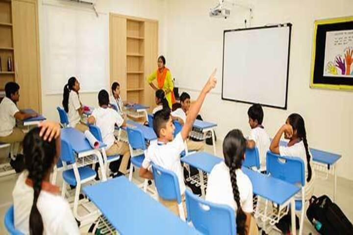 Hindustan International School-Smart Classroom