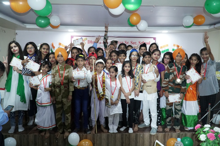 Dhruva Bal Niketan Senior Secondary School-Republic Day Celebration