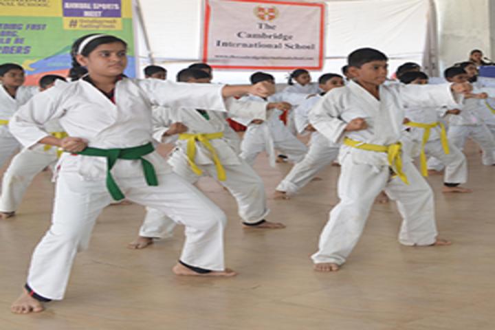 The Cambria International School-Karate