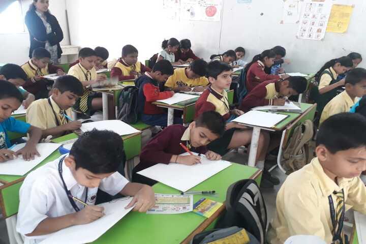 Prestige Public School-Drawing Competition