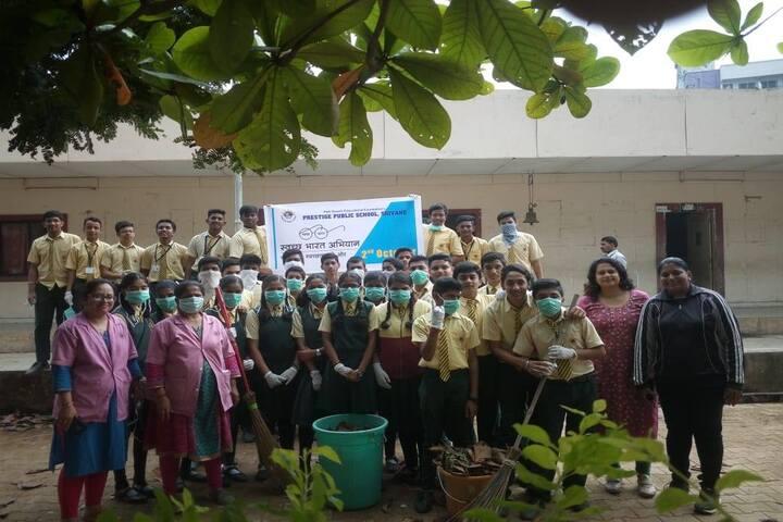 Prestige Public School- cleanliness