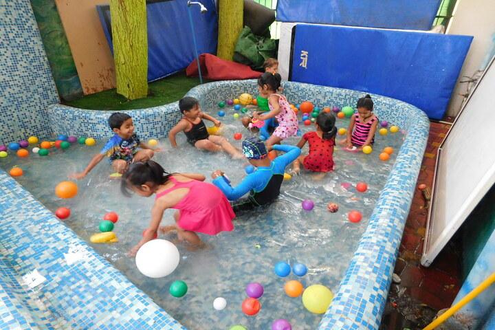 C P Goenka International School-Pool Activity