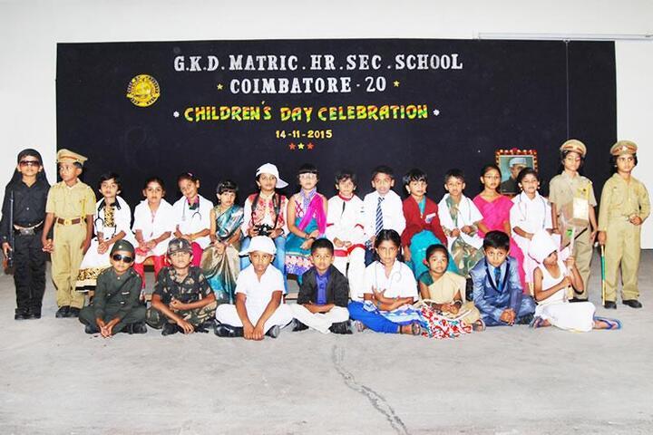 GKD Matric Higher Secondary School- Day Celebrations