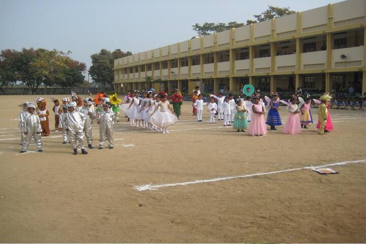 GKD Matric Higher Secondary School-Republic Day Celebration