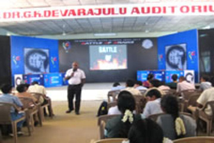 GKD Matric Higher Secondary School-Seminar