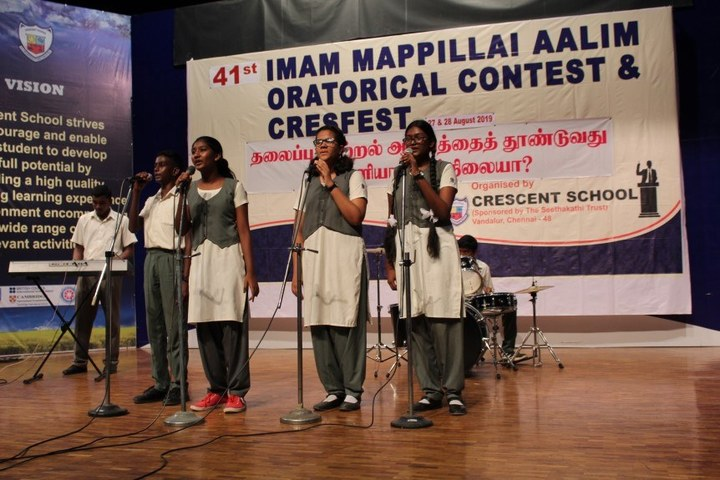 Crescent School-Music Competition