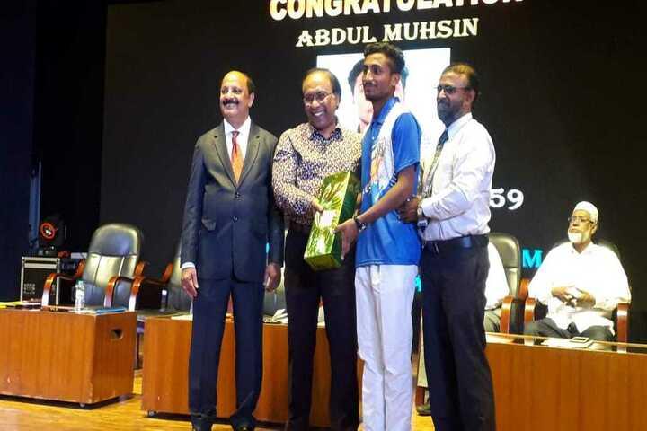 Crescent School-Award Presentation