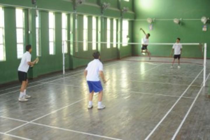 Sakar English School-Badminton Court