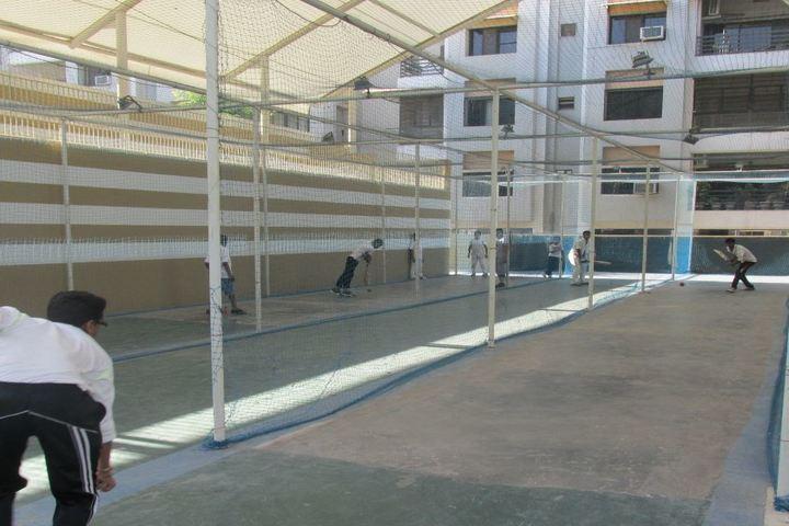 Sakar English School-Net Cricket