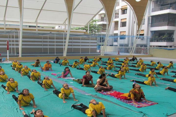 Sakar English School-Yoga