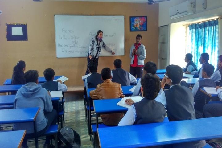 VED International School-Classroom