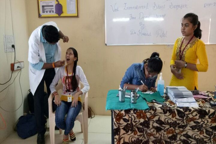 VED International School-Dental Camp