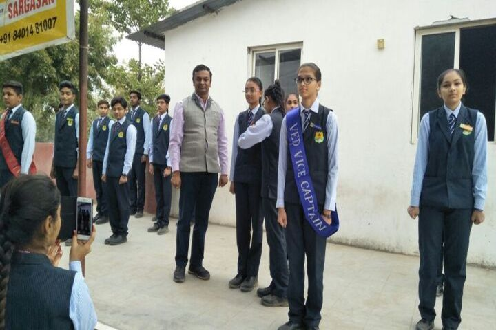 VED International School-Investiture Ceremony