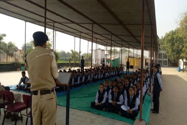 VED International School-Self Defence Activity