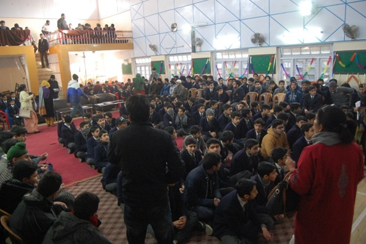 Burn Hall Higher Secondary School-Auditorium
