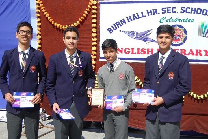 Burn Hall Higher Secondary School-Awards