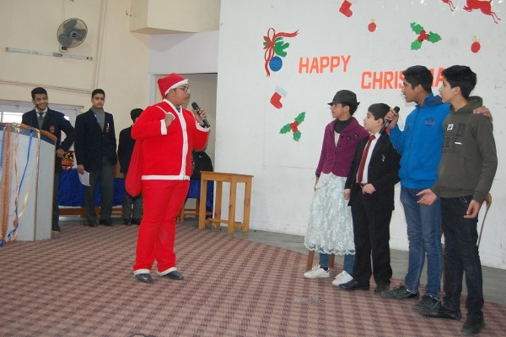 Burn Hall Higher Secondary School-Christmas Celebrations