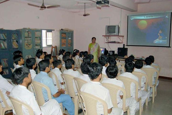 Bhavans Shri A K Doshi Vidyalaya High School-AV Room