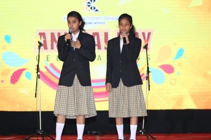 Kudila Govindram Seksaria English School-Music Activity