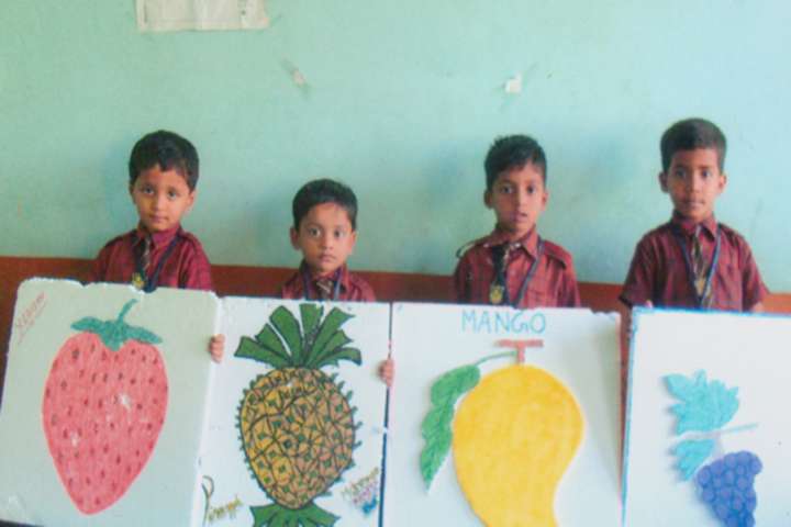 Mamata High School-Fruit Day