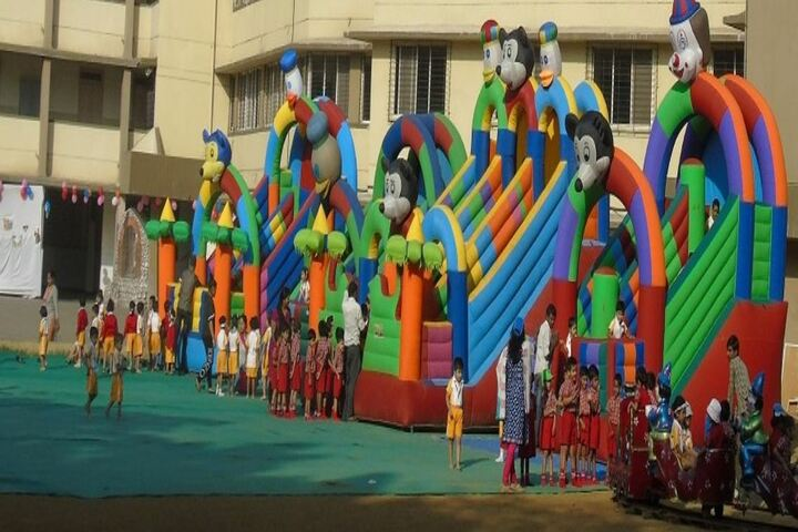 Holy Cross Convent School-Kids Play Area