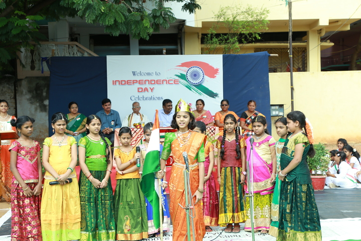 Sri Gowthami Smart School-Indepence Day