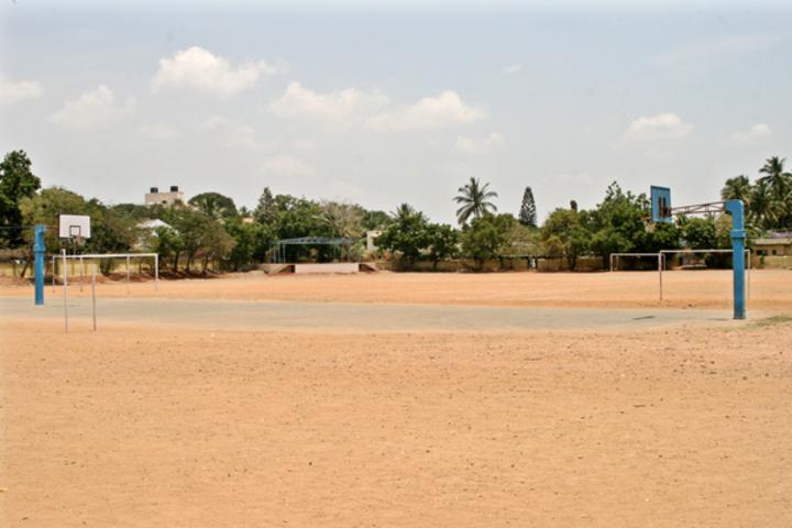Carmel Garden Matriculation Higher Secondary School-Basket Ball Court
