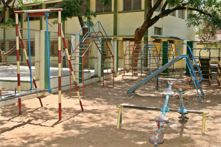 Carmel Garden Matriculation Higher Secondary School-Play Area