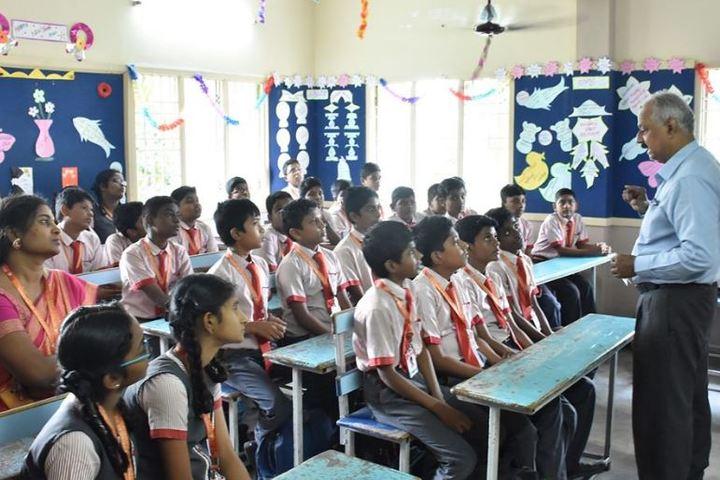 Little Flower Matriculation Higher Secondary School-Classroom