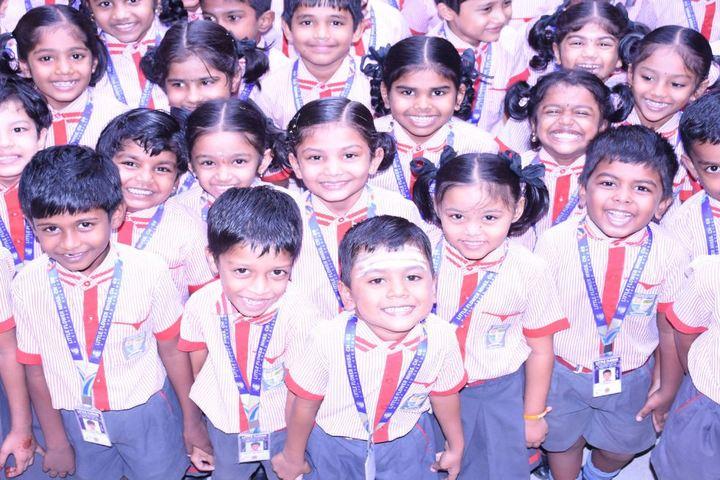 Little Flower Matriculation Higher Secondary School-Students