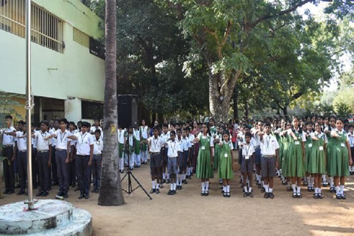 Vanavani Matriculation Higher Secondary School-Assembly