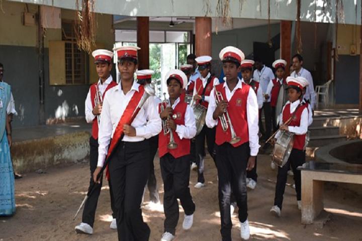 Vanavani Matriculation Higher Secondary School-Band Day