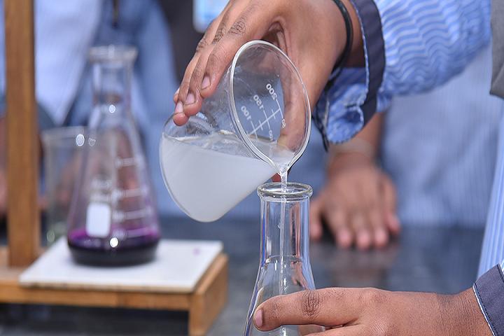 Dhanish Matriculation Higher Secondary School-Chemistry Lab