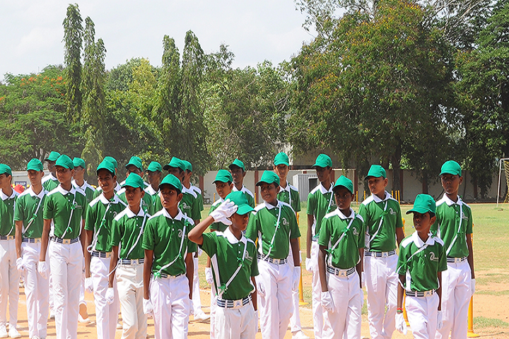 Dhanish Matriculation Higher Secondary School-Green Day