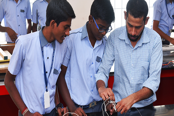 Dhanish Matriculation Higher Secondary School-Physic Lab