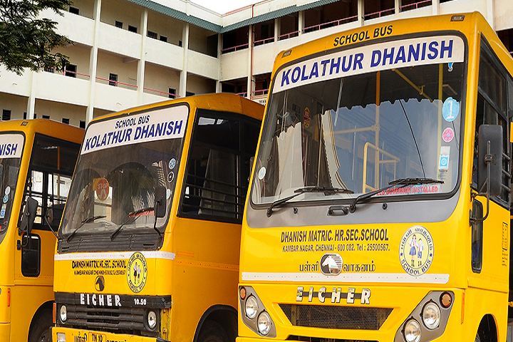 Dhanish Matriculation Higher Secondary School-Transport