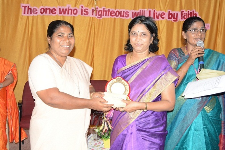 St Josephs Matriculation Higher Secondary School- Award