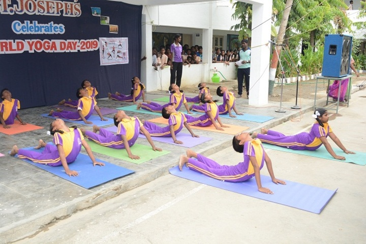 St Josephs Matriculation Higher Secondary School- Yoga