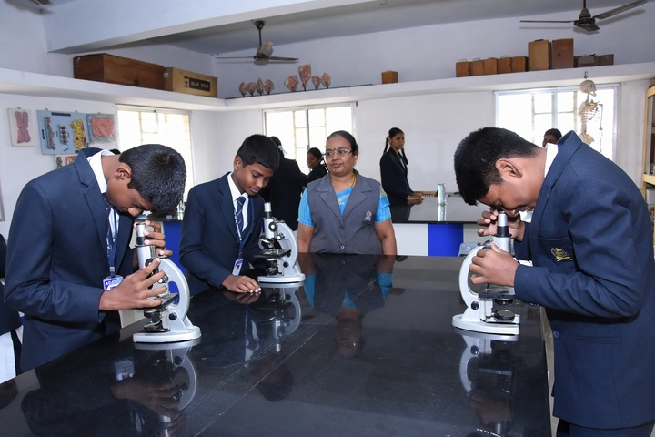 St Josephs Matriculation Higher Secondary School-Physic Lab