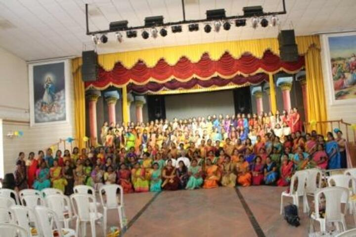 Avila Convent Matriculation Higher Secondary School-Group Photo
