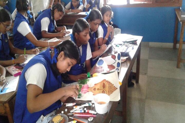 Alvernia Matriculation Higher Secondary School-Art and Craft