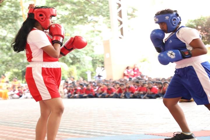 Alvernia Matriculation Higher Secondary School-Boxing