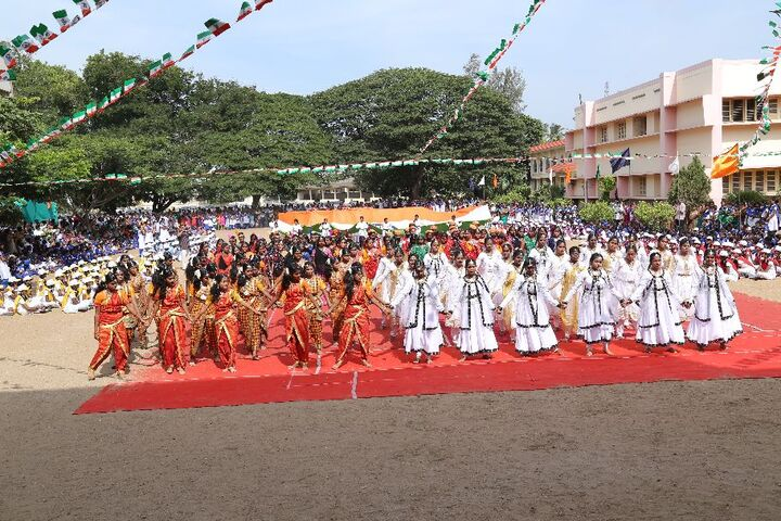 Alvernia Matriculation Higher Secondary School-Indepence Day