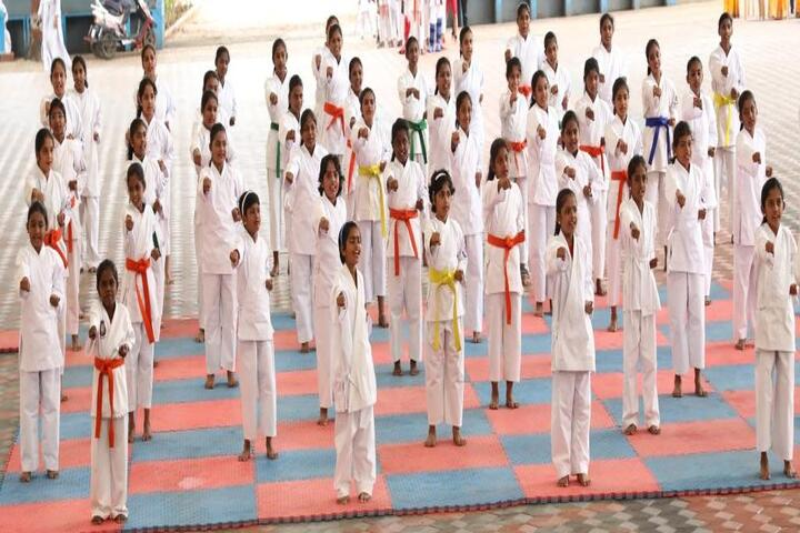 Alvernia Matriculation Higher Secondary School-Karate