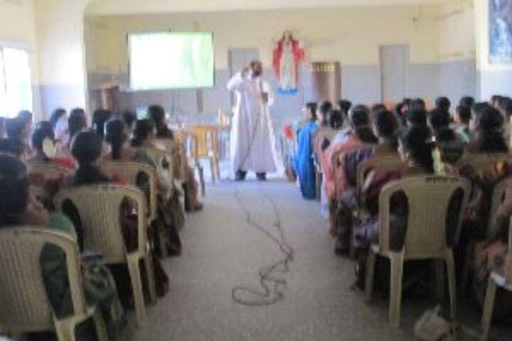 Alvernia Matriculation Higher Secondary School-Teachers Seminar