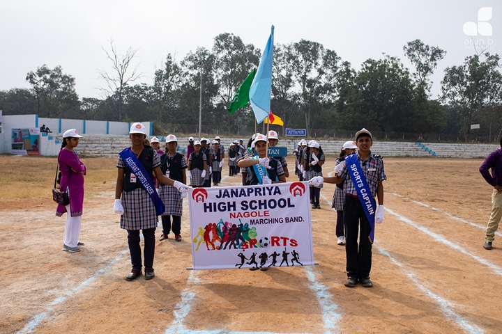 Janapriya School-Sports Day